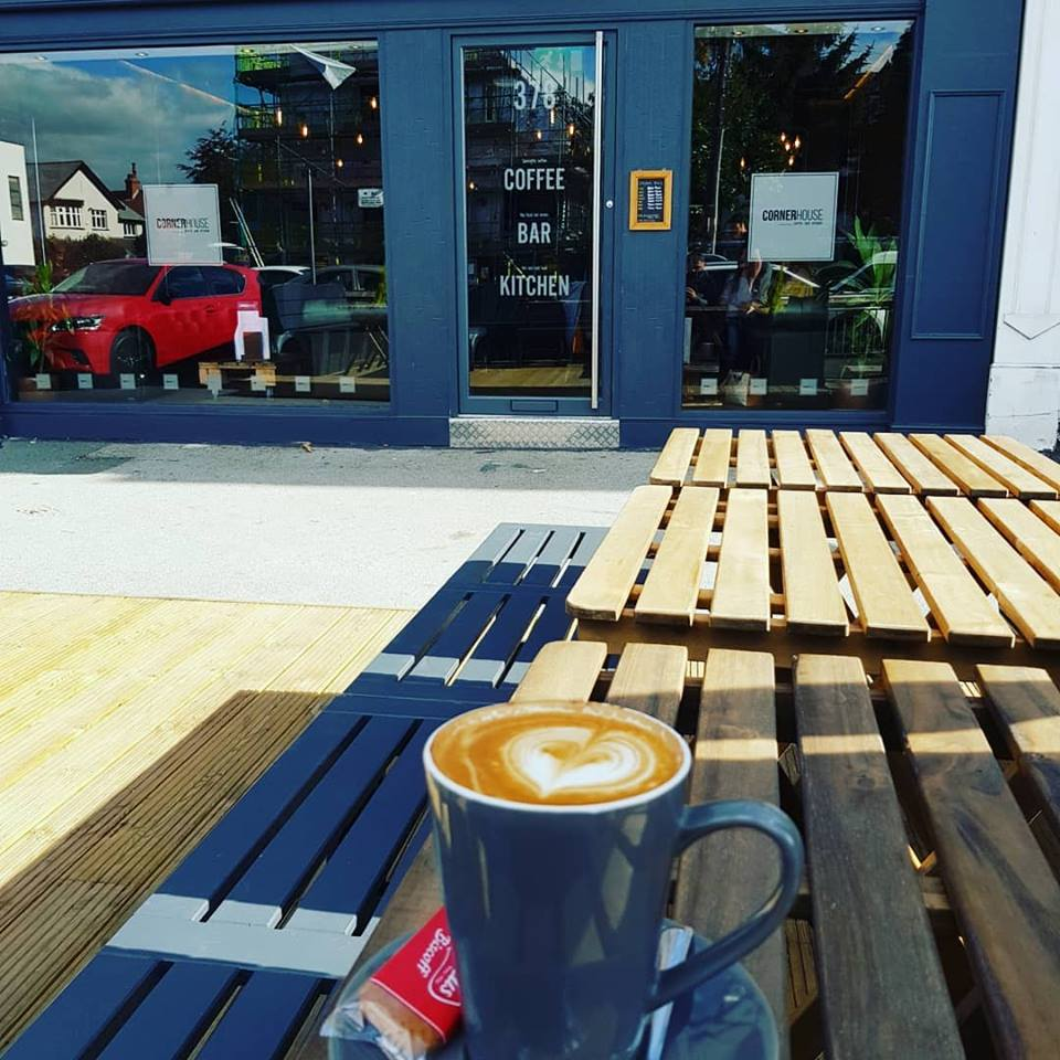 Coffee in the sun - Corner House Coffee Bar & Kitchen